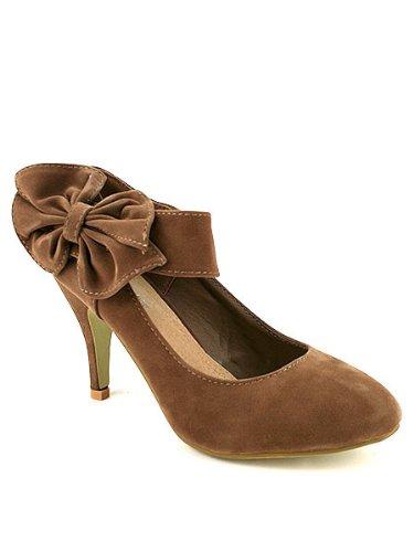Cendriyon, Escarpin Velours Marron LONITA Mode Chaussures Femme Marron