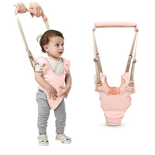 *Baby Gehhilfe, Lauflernhilfe Gehhilfe für Baby, Stehen Gehen Lernen Helfer Walker, Kleinkind Fuß Assistent Weste, für Kinder 8-24 Monate (Rosa)*
