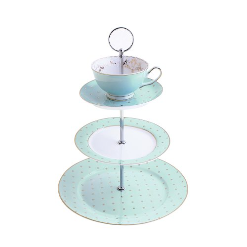 bombay-duck-miss-darcy-tasse-a-the-et-soucoupe-menthe-support-presentoir-a-gateaux-3-etages-et-or-sp