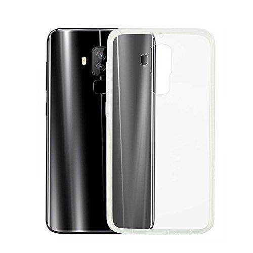 T&R Homtom S8 Funda, Transparente TPU Silicona Cover Case Protictive Carcasa Funda para Homtom S8 Smartphone