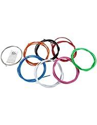 2,5 m Câble de frein kit en couleur, cable + gaine freine Vélo Kit externe et interne 7 couleurs
