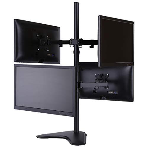 FKTVSTAND 4 Monitor Standfuß für Monitormontage/höhenverstellbarer Monitorständer/VESA-Halterung für die meisten LCD/LED-Monitore - Springs Wohnwagen
