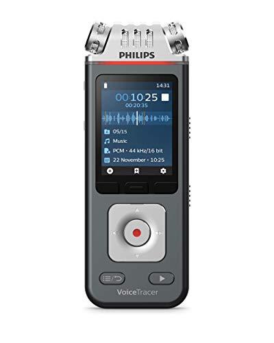 Philips Voicetracer Audiorecorder DVT6110 für Musik, Vorträge undInterviews