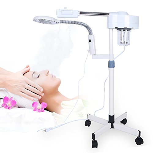 Pro Facial Steamer 3X Magnifying Lamp