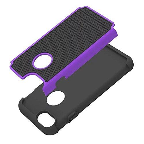 Valenth iPhone 7 Hülle Hybrid High Impact Heavy Duty Dual Layer harte PC Außenschale mit weicher Gummi Inner Rüstung Defender Case für das iPhone 7 4,7-Zoll-Bildschirm Co5