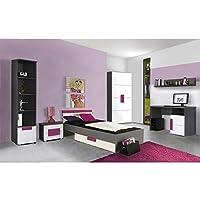 Preisvergleich für Jugendzimmer Libelle Komplett verschiedene Ausführungen Kinderzimmer Möbel (Jugendzimmer Libelle 7tlg)