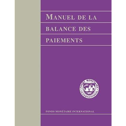Manuel de la Balance des Paiements: