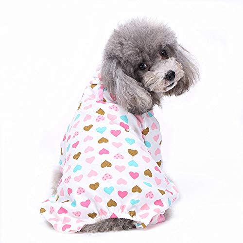 TUOTANG Ropa Mascotas Ropa Perros Pijama Algodón