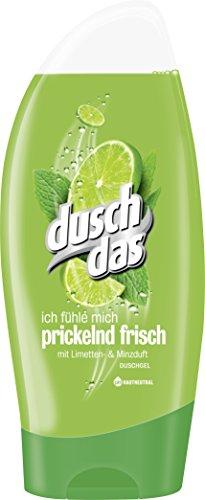 Duschdas Duschgel Prickelnd Frisch, 6er Pack (6 x 250 ml)