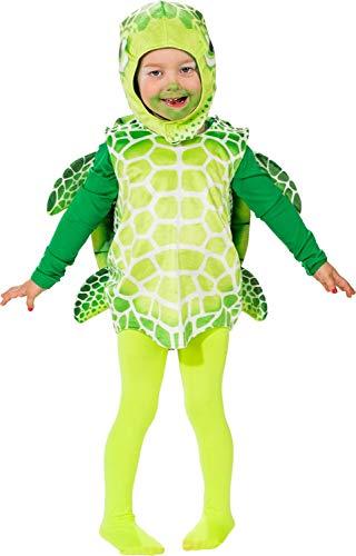 Fancy Me Kostüm für Kleinkinder, Mädchen und Jungen, süßes Meerschildkröten-Design, TV-Buch Cartoon-Film, Kostüm