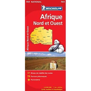 Carte NATIONAL Afrique Nord et Ouest