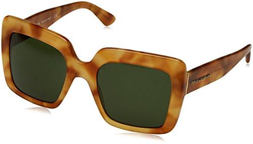 Dolce & Gabbana Damen 0DG4310 313071 52 Sonnenbrille, Braun (Havana Camel/Grey Green),