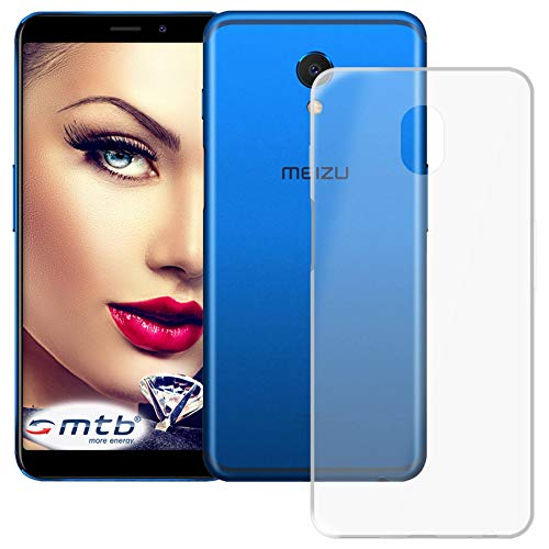 mtb more energy® Schutz-Hülle Clear & Slim für Meizu M6s (5.7'') | transparent | flexibel | TPU Silikon Case Cover Tasche