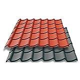 Olibaustoffe Trapezblech, Trapetzbleche, Profilbleche, Dachplatten, Mattaldach, Blechdapfannen 1m² BONA