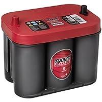 Optima Red Top Rt C 4.2 Batterie Démarrage Sprial Cell, 12V 50Ah 815 Amps (En)
