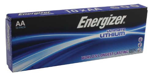 Energizer Lithium Aa-batterien (Energizer Battery AA/LR6 Ultimate Lithiu 10-pak, 636900 (10-pak))