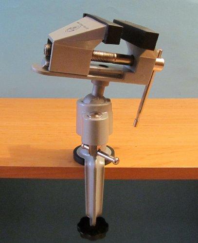 """Mini Schraubstock drehbar um 360° mit Drehbarer Kopf in \""""Hoher Qualität\"""""""