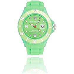 MUSAVENTURA Watch Analogue Display and Silicone Strap REF 157_193