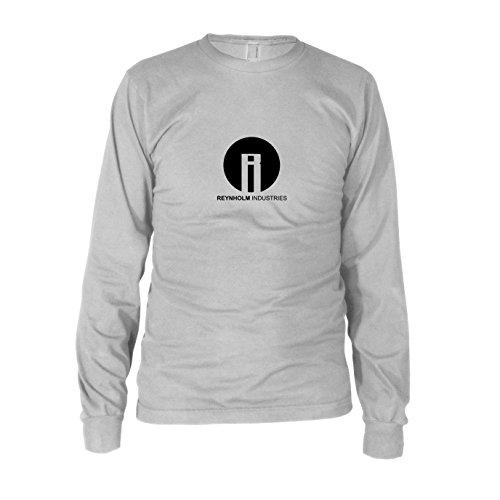 (Planet Nerd Reynholm Industries - Herren Langarm T-Shirt, Größe: XXL, Farbe: Weiß)