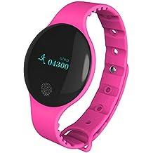 WAOBE Reloj Inteligente para niños, Pantalla táctil Slim Fitness Tracker, Bluetooth IP65 podómetro Impermeable