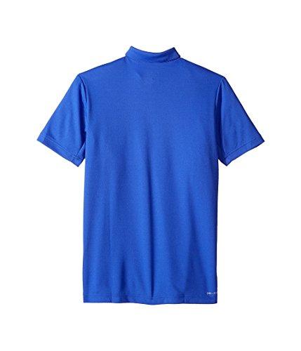 Nike B Dry Tennis Polo, Kinder Blau (Paramount Blue / Geistgrün)