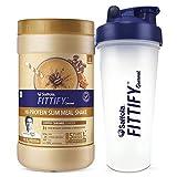 Saffola FITTIFY Gourmet Hi-Protein Slim Meal Shake - Coffee Caramel, 420 gm, 12