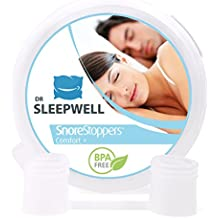 Le Meilleur Dispositif Anti-Ronflement - Une Aide Perfectionnée Contre les Ronflements- 4x Snore Stopper Premium - Satisfaction 100% Garantie - La Solution aux Ronflements pour Vous - La Plus Confortable, la Plus Efficace !