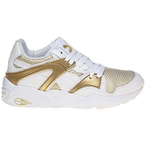 Puma - Blaze Gold, Sneaker Donna Bianco