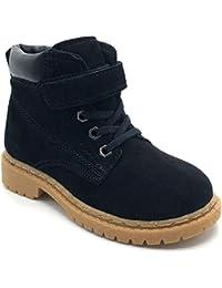 Gaatpot Kinder Winterschuhe Jungen Mädchen Winterstiefel Winter Warm  gefütterte Leder Stiefel Snow Boots Schuhe 6883719f07
