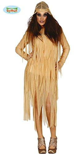 Kostüme Sarg (2-teilig- Mumie Kostüm für Damen Gr. M/L - Kleid,)