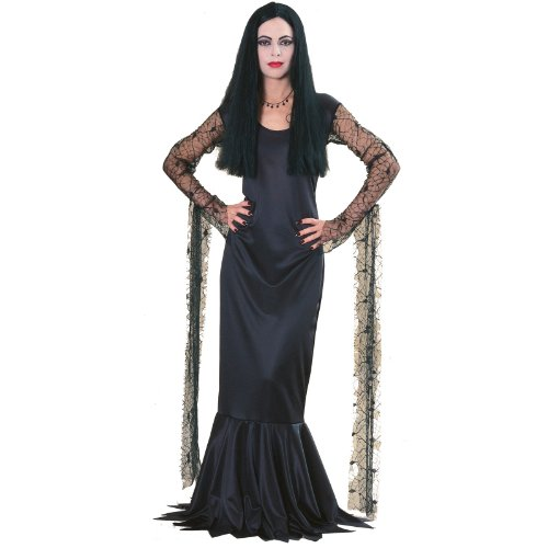 Morticia (The Addams Family) - Licensed Adult Costume Lady : MEDIUM (Kostüm Addams Family Morticia)