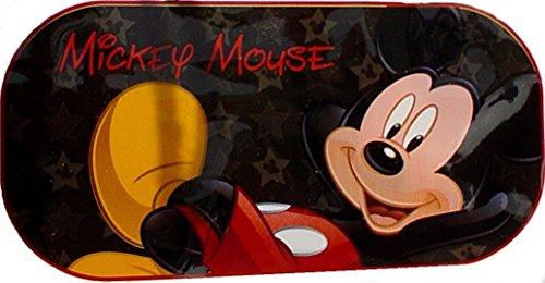 Mickey Mouse / Heckscheiben Sonnenschutz Disney Auto Schutz vor Sonne Micky Maus (Schwarz)