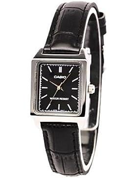 Casio Uhr mit japanischen Bewegung LTP + v007l.1e 22mm