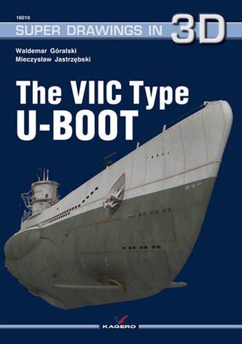 The VIIC Type U-Boot (Super Drawings in 3D) par Mieczyslaw Jastrzębski