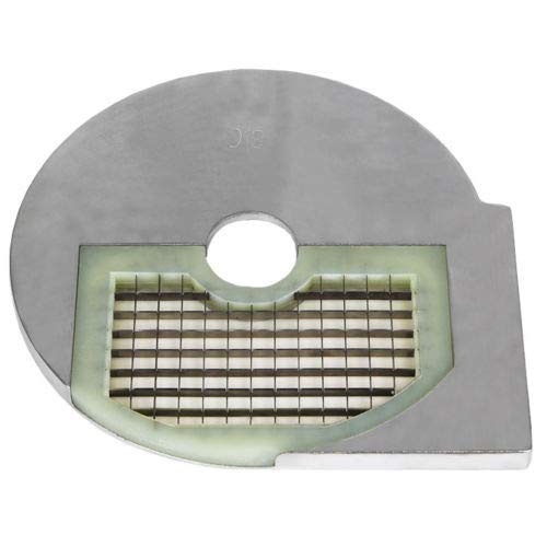 Beeketal D10 Gemüseschneiderscheibe passend für Beeketal Gemüseschneider GS750 oder GS750profi, Schneidscheibe mit 205 mm Außendurchmesser, geeignet für Würfel 10 x 10 mm