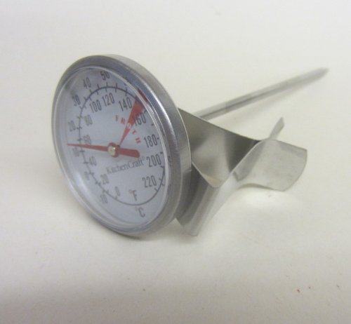 Sturdy Metal Candle Making THERMOMETER Also for Jam,Soap and various uses