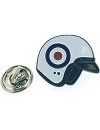 Gemelolandia Pin de Solapa Casco Moto Símbolo RAF 427192e10514d