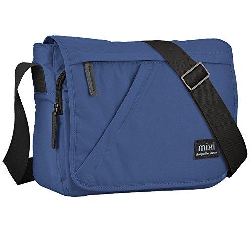 Everdoss Hommes sac de messager en nylon de vogue cartable sac de l'école sac à bandoulière sac de sport de loisirs