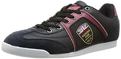 Kaporal Franz, Baskets mode homme - Noir (8 Noir), 41 EU