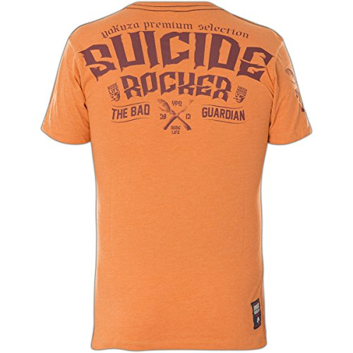 Yakuza Premium T-Shirt YPS-2300 Orange Orange