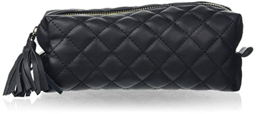Preisvergleich Produktbild PIECES Damen Pcnanci Pencil Case Clutch,  Schwarz (Black),  7 x 9 x 20 cm