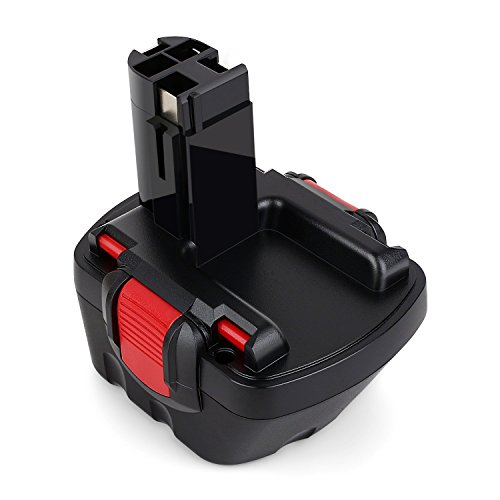 Odec Ni-MH Bateria de Reemplazo 12V 3000mAh para Bosch 22612 3360 3455 32612 3360K 3455-01 BAT043 BAT045 BAT046 BAT049 BAT139 2607335274 2607335709 2609200306 Exact 700 PSB 12VE-2 GBH 12VRE GLI 12V