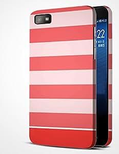 alDivo Premium Quality Designer Printed Slim Light Weight Mobile Back Cover Case For Blackberry Z10 (MKD389)