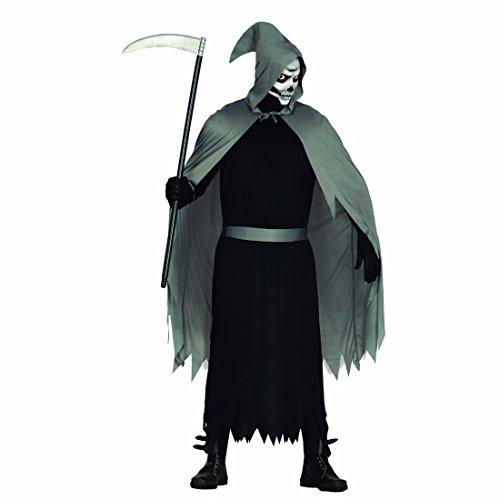 Imagen de traje halloween grim reaper disfraz de la muerte l 52/54 ropa fiesta de miedo caracterización hombre de terror atuendo de la descarnada oufit noche de brujas