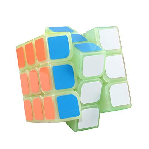 Luminoso Puzzle Rubik Cubo 3X3 Cubo Niños Juego Dedicado