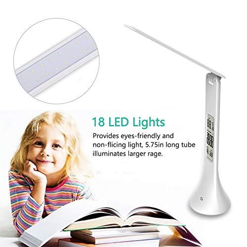 MAMASAM Lámpara de Mesa LED Lámpara de Mesa Plegable y táctil Ajustable...