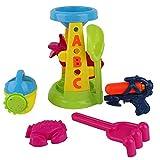 Beach Sandpit Toys Sabbia E Mulino Ad Acqua Play Set Stampi Plastic Outdoor Garden Park Bambini Ragazzi Ragazze