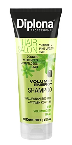 DIPLONA HAIR SALON Volume + Energy Shampoo, 3er Pack (3 x 250 ml)