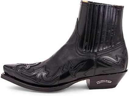 Sendra Boots 4660 Cuervo Flora Negro-Sprinter Negro