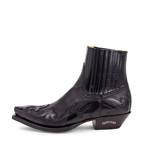 Sendra Boots - 4660 Cuervo Flora Negro-Sprinter Negro-44